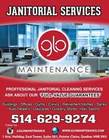 Do YOU need professional janitorial CLEANING services?