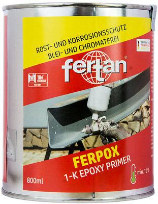 Fertan Rostschutz & Korrosionsschutz FERPOX 1-K Epoxy Grundierung Primer 0,8 Kg online kaufen