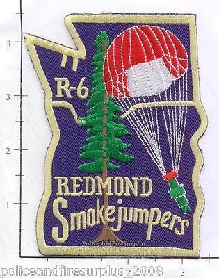 Oregon - Redmond Smoke Jumpers R-6 OR Fire Dept Patch