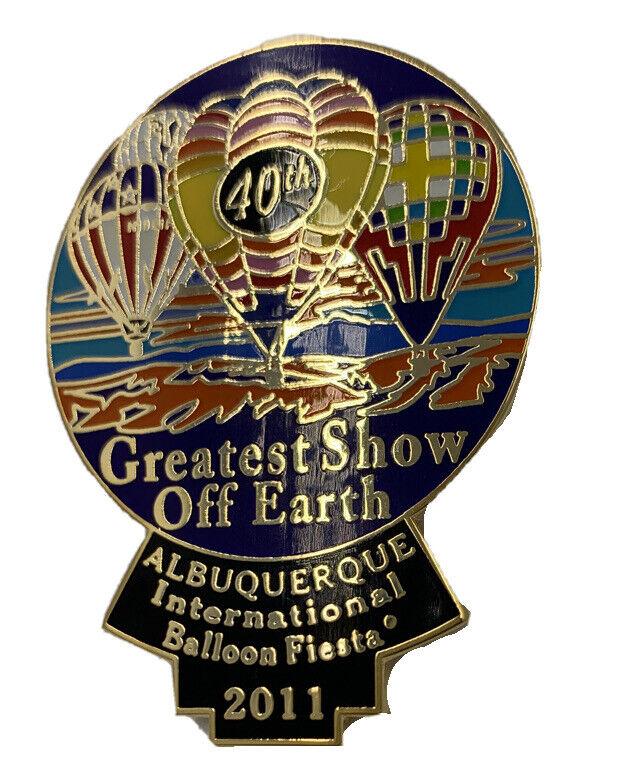 2011 Albuquerque International Balloon Fiesta Official Event Pin