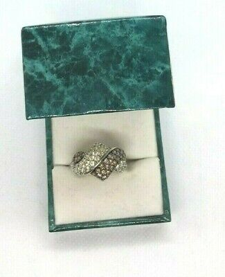 Victoria Wieck HSN MEDA STERLING SILVER RING SIZE 10