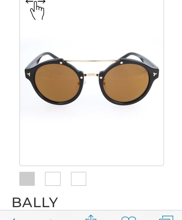 d916e2701f2 Bally sunglasses authentic comes with case and dustbag