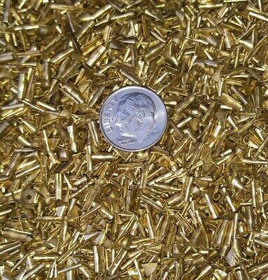 1 Lb One Pound Brass Chips Turnings Shavings Machining C360 Yellow Brass 1 Art