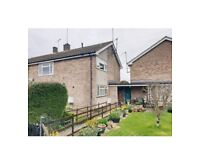 2 bed flat with private garden