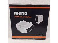 Brand New Rhino Fan Heater