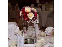 Wedding table centrepiecs 8 off