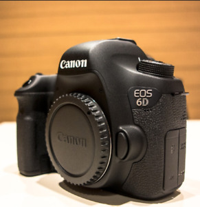 CANON 6D with 24MM-105MM - GREAT CONDITION - FOR PICKUP ASAP