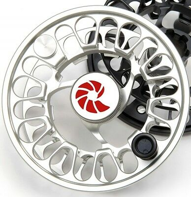 NEW SPARE SPOOL FOR NAUTILUS NV-G 7/8 #7/8 WT FLY REEL SILVER FREE U.S. (New Spare Spool Fishing Reel)