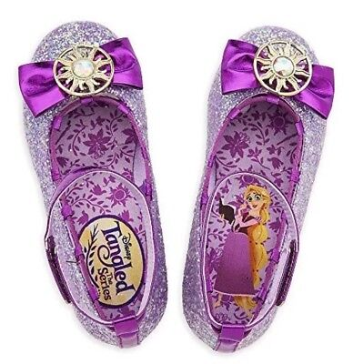 Disney Rapunzel Costume Shoes for Kids - Tangled: The Series Size 7/8 TODLR Purp (Rapunzel For Kids)