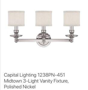 Brand New Beautiful Vanity Lamp