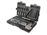 Brand new Halfords advanced 200 piece socket and ratchet spanner set