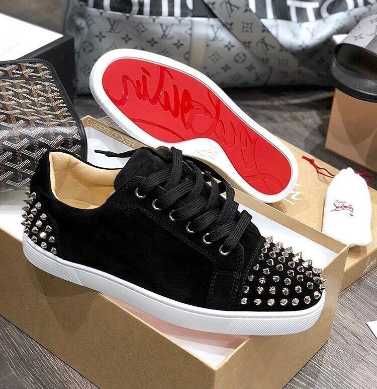 2f64528c4cc69 Christian Louboutin Suede Louis Junior Spikes | in Westminster ...