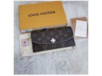 Louis Vuitton Emilie Bloom style wallet