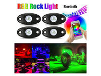 Car LED lights with bluetooth BRAND NEW!