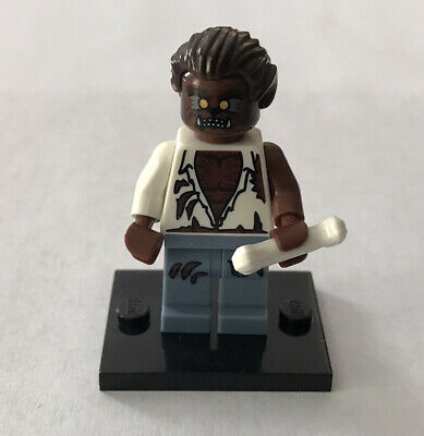 Lego WEREWOLF Minifigure Series 4 - Halloween 8804 Monster + Bone + Stand (L26)