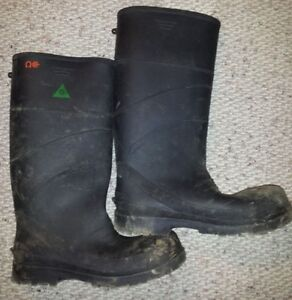 Rubber Boots - CSA - Construction - Steel Toe Boot shoes mens 9