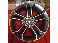 """18"""" BRAND NEW FORD ST 2 GM STYLE ALLOY WHEELS TO FIT VOLVO JAGUAR FORD RENAULT"""
