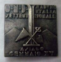 Spilla Pins Ond Raduno Italia Settentrionale Asiago Xv 1937 Sci Fascismo -  - ebay.it