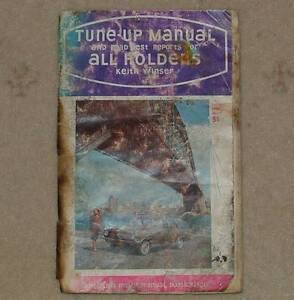 HOLDEN TUNE-UP MANUAL 1948-66 Old Reynella Morphett Vale Area Preview