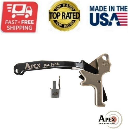 NEW APEX TACTICAL - FN 509 ACTION ENHANCEMENT TRIGGER KIT - FDE - 119-145