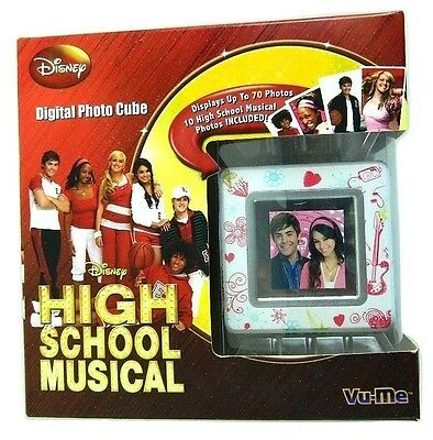Digital Photo Cube ( Disney High School Musical Digital Photo Cube Holds 70 Photos Brand NEW In Box)