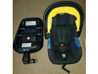 Silver cross simplicity car seat with Isofix base