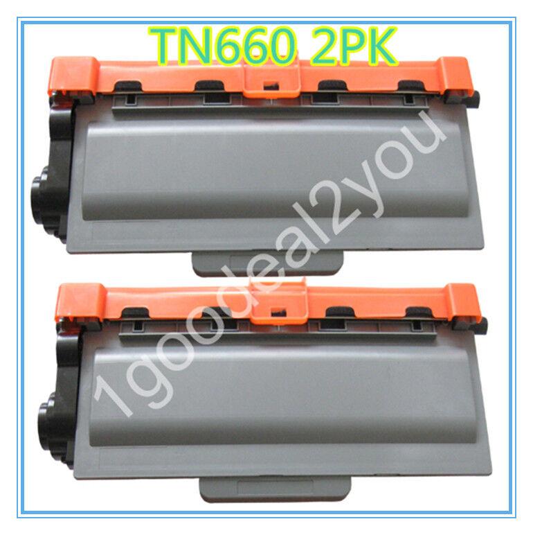 2PK TN630 TN660 Toner Cartridge For Brother HL-L2320D