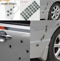 For sell Waterproof Simulation bullet hole Orifice stickers Grap
