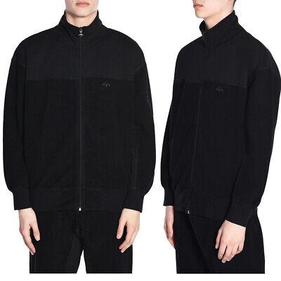 adidas Originals Mens AW Alexander Wang Inout New Fleece Zip Jacket Zipped Top