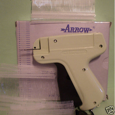 Clothes Price Label Tagging Tag Tagger Gun With 1000 Barbs