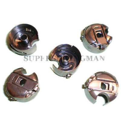 5 Pcs. Industrial Sewing Machine Bobbin Case for Juki Consew brother Singer