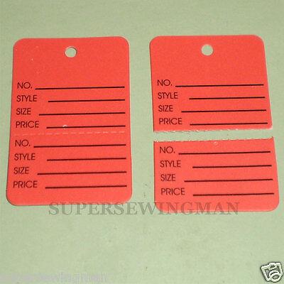 150 Pcs. 1-14x1-78 Clothing Price Hang Tagging Tag Tagger Gun Labels