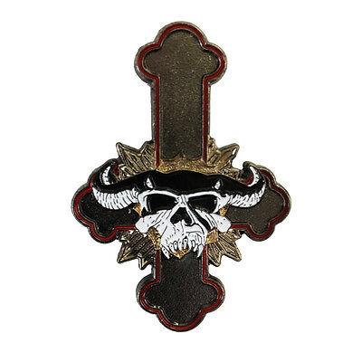 GOD DON'T LIKE IT Enamel Pin misfits samhain danzig punk heavy metal lucifuge