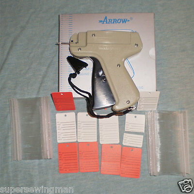 Arrow Clothing Price Label Tagging Tag Tagger Gun 500 Barbs 50 Price Labels