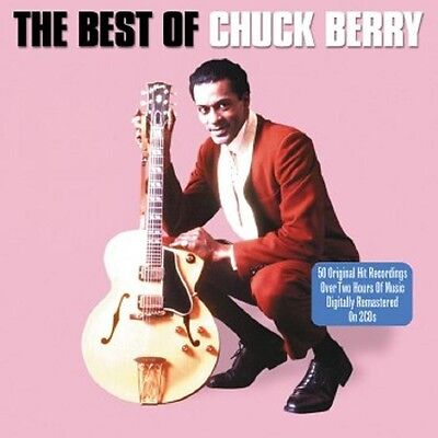 Chuck Berry Best Of 50 Original Recordings Hits Collection Remastered New 2 Cd