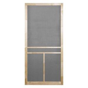 screen doors Wood