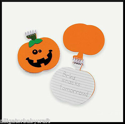 Pumpkin Jack o Lantern Notebook Halloween Craft Kit for Kids 35 Sheets! ABCraft (Halloween Crafts For Children)