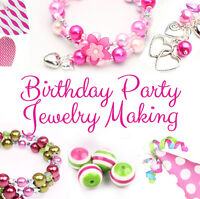 Jewelry Birthday Party for Girls