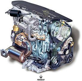 I need a garage to exchange engine in Vauxhall Vivaro 1.9 CDTI