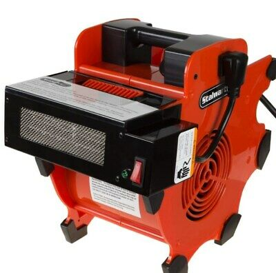 Industrial Heavy Duty Fan Blower Portable Heater Attachment Air Mover Floor -