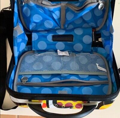 Heys Luggage Britto Beauty Case (Carnival) Small travel Cosmetic Utility bag NWT