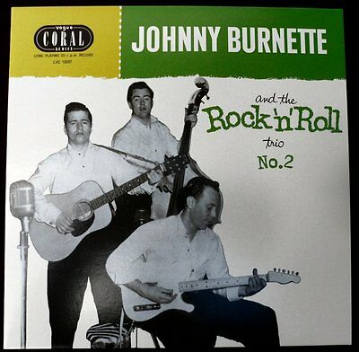 "JOHNNY BURNETTE TRIO 10"" LP - No.2 - ALTERNATE AND CLASSIC ROCKABILLY CUTS"
