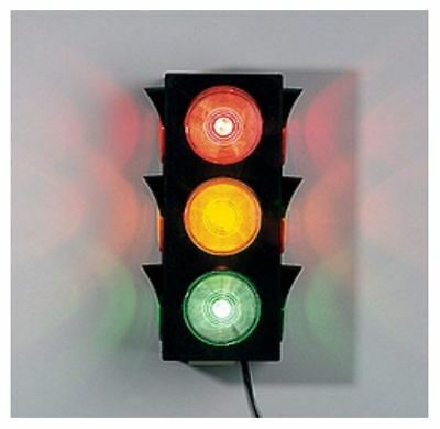 - Best Stand Alone Large Blinking Traffic Light Wall Mount Stop Go Ready Toys New