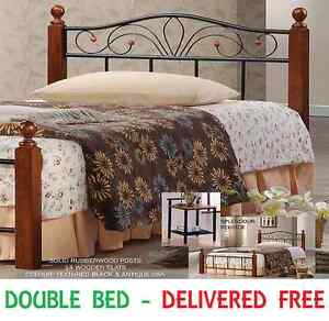 BRAND NEW Double Size Bed Frame DELIVERED FREE - SPLENDOUR New Farm Brisbane North East Preview