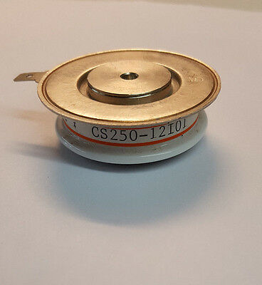 Cs250-12i01 Scr Thyristor 450amp 1200volt Hockey Puck 1.625d X 12h New 12io1