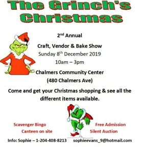 The Grinch's Christmas Craft, Vendor & Bake Show