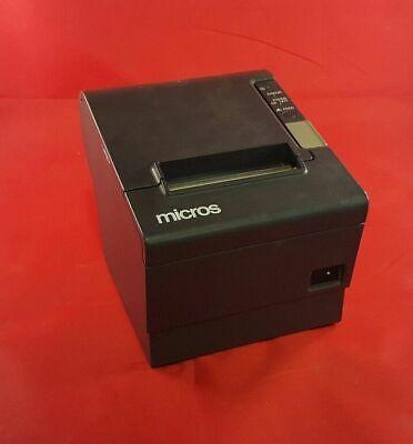 Micros Epson Tm-t88iv Model M129h Pos Thermal Receipt Printer W Serial Port