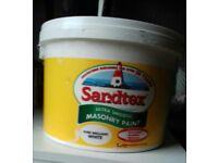 Sandtex ultra smooth masonry paint white
