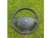 Clio sport steering wheel