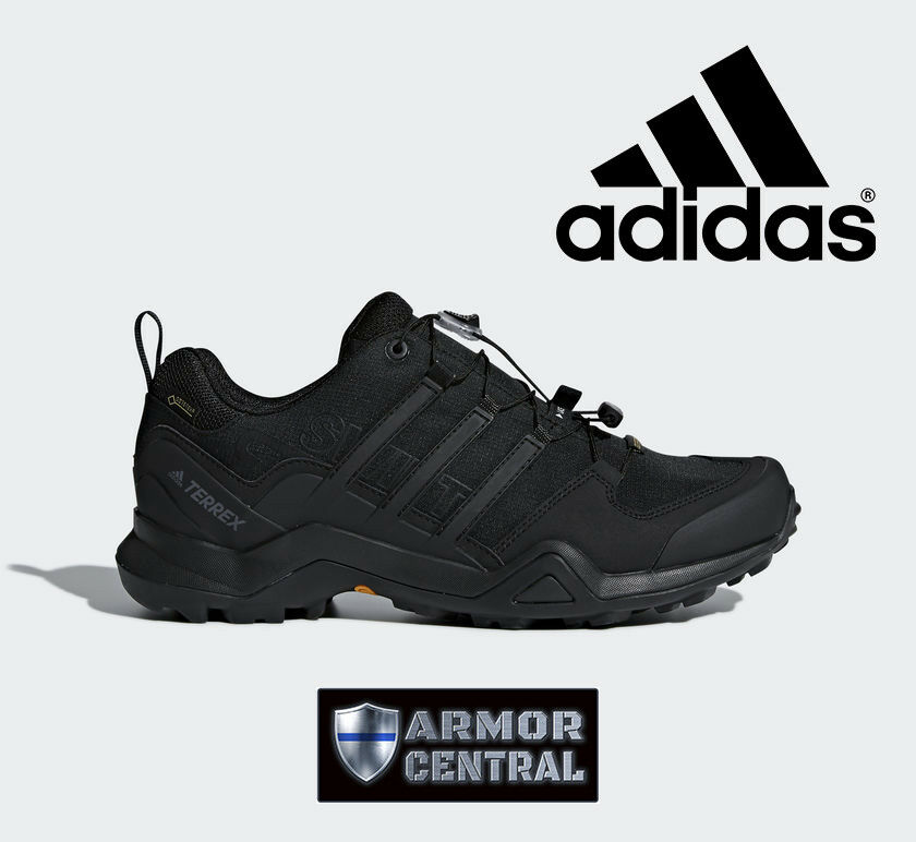 NEW Men's Black Adidas Terrex Swift R2 GTX Shoes Waterproof CM7492